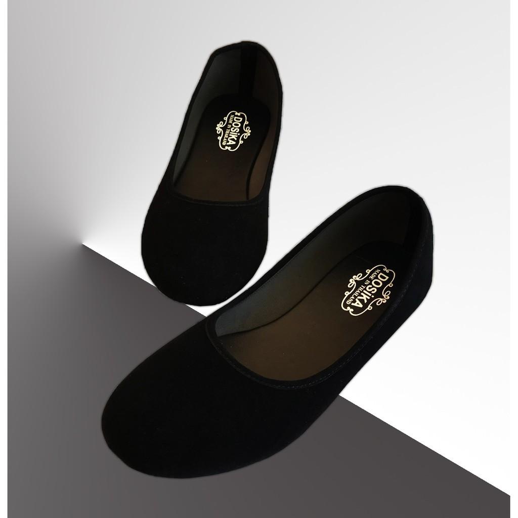 รองเท้าคัชชู รองเท้านักศึกษา รองเท้าไม่มีส้น