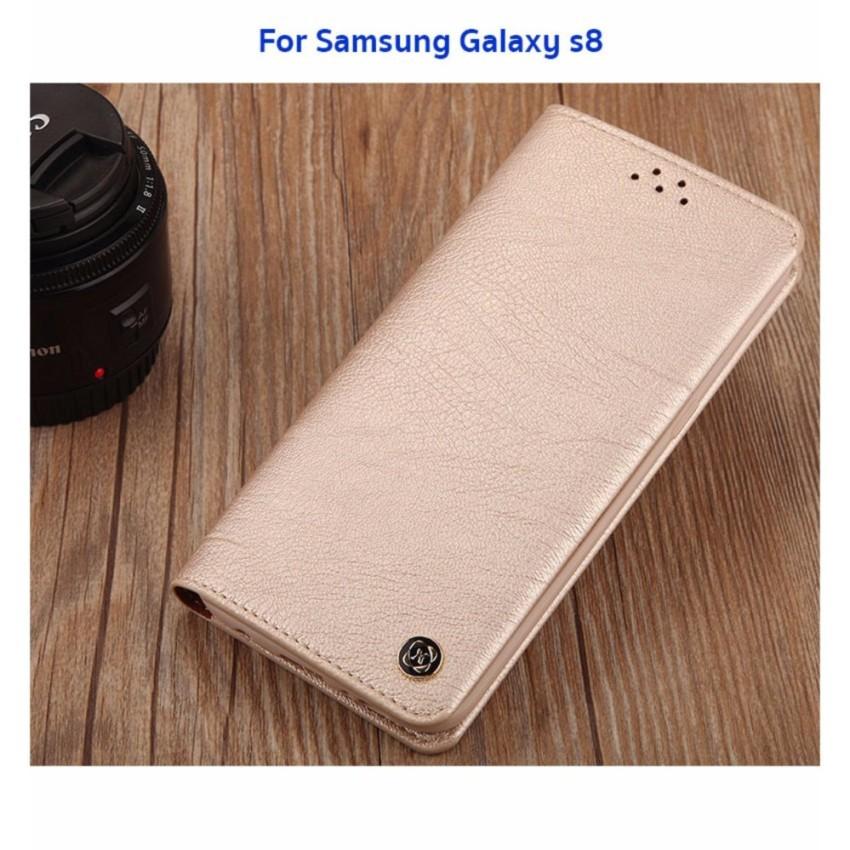 XUNDD Gentleman Leather case เคสหนังฝาปิด ของแท้ สำหรับ Samsung Galaxy S8 #1288