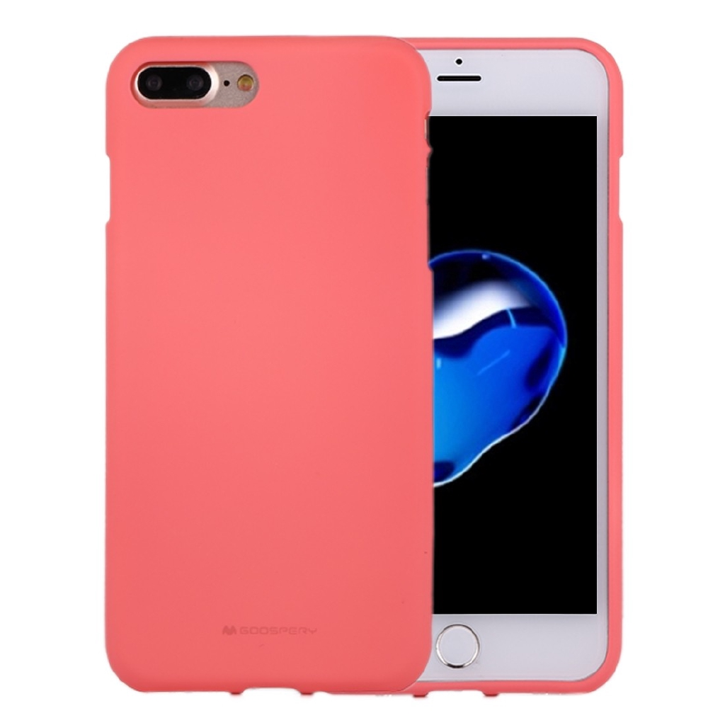 Mercury Goospery Soft Feeling For Iphone 8 Plus 7 Liquid Sky Slide Bumper Case Red State Tpu Drop Proof Protective Back Cover Shopee Thailand