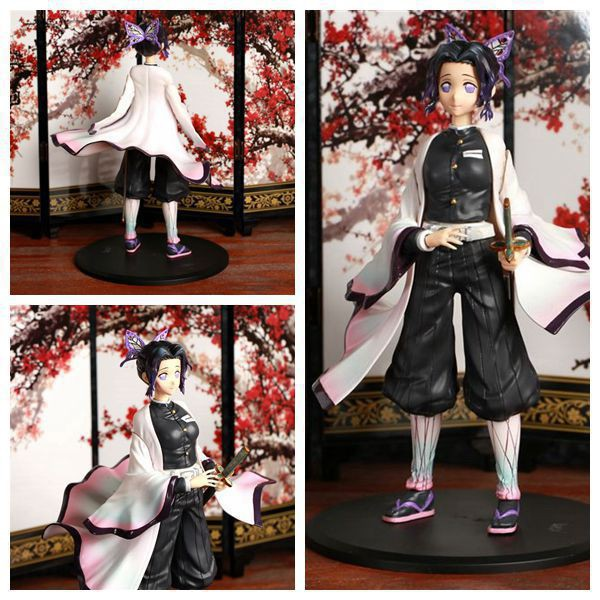 17cm Anime Demon Slayer: Kimetsu no Yaiba Kochou Shinobu Rengoku Kyoujurou  VC Action Figure Collection Model Toys Brinq
