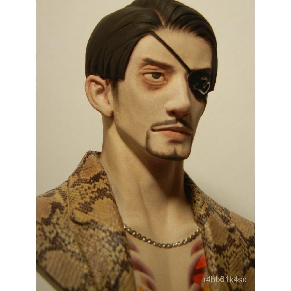 Resin Figure Kit MIDORO Goro Majima Bust Unainted Garage Resin Kit#¥%¥# 1Obk