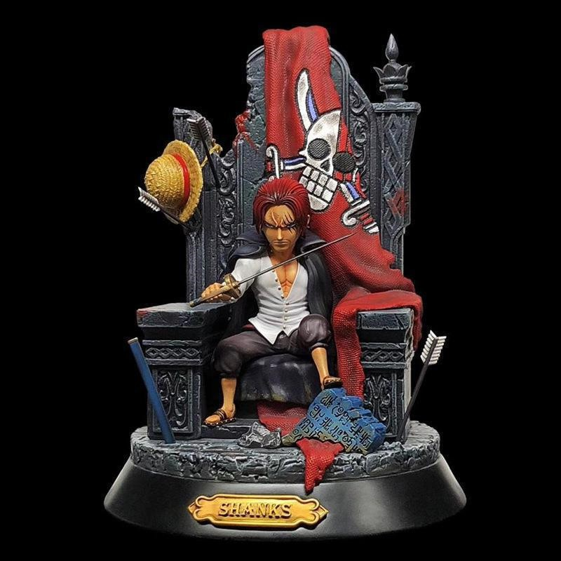 ☘️ashleg☘️One Piece the Red Haired Shanks Garage Kit Statue Figure