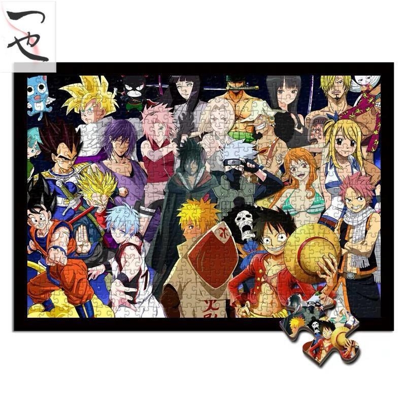 หนังสือการ์ตูน One Piece Naruto Seven Dragonball Luffs ของเล่นสําหรับเด็ก