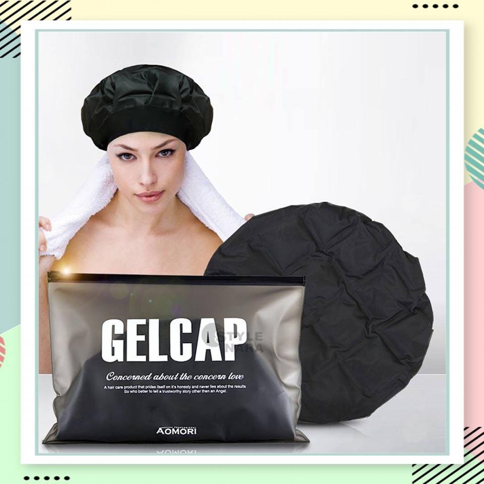 GEL CAP (เจลแค็ป) Nano Spa  หมวกอบไอน้ำไร้สาย ที่มีประสิทธิภาพสูงกว่าเครื่องอบไอน้ำทั่วไป