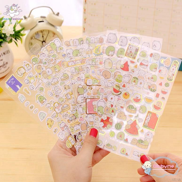 Review 🌹HOT SALES🌹Cute Style Rabbit Stickers PVC Sticker for DIY Scrapbooking
