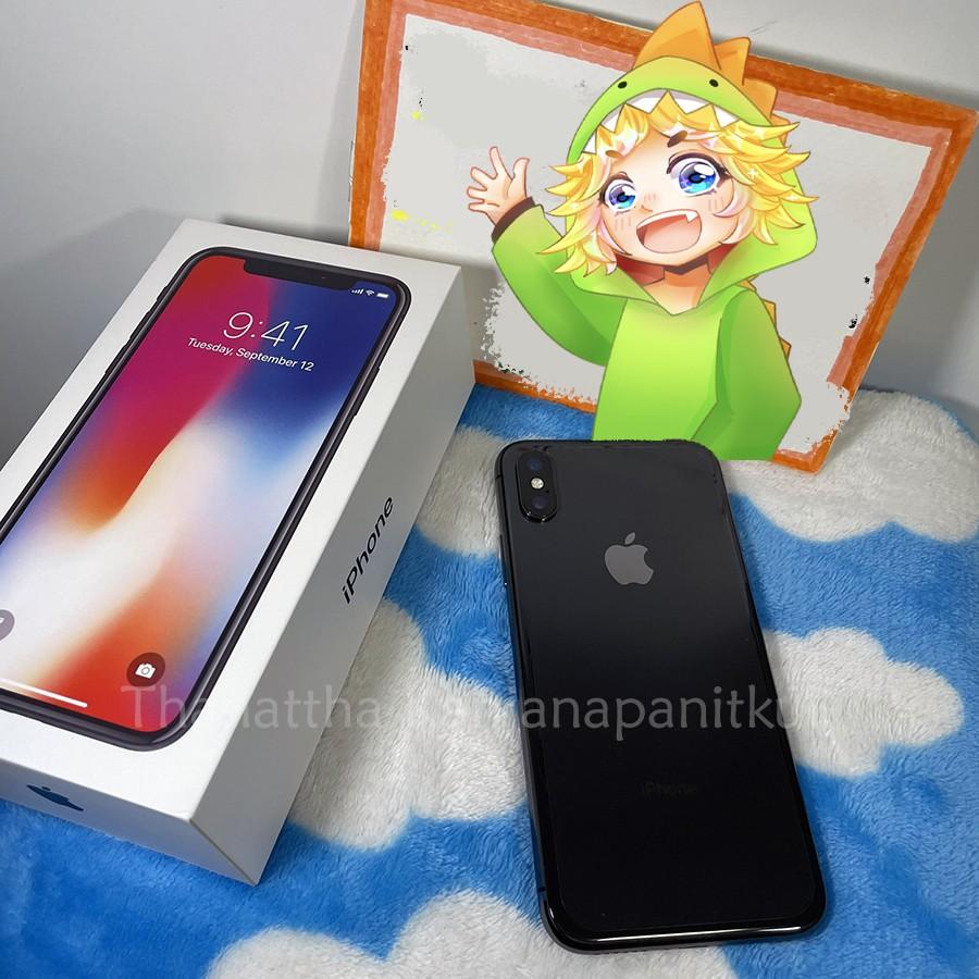 (มือสอง ใช้เอง) IPHONE X 256GB (สภาพ97%) | ไอโฟน10 iphone10 | มีผ่อน0%
