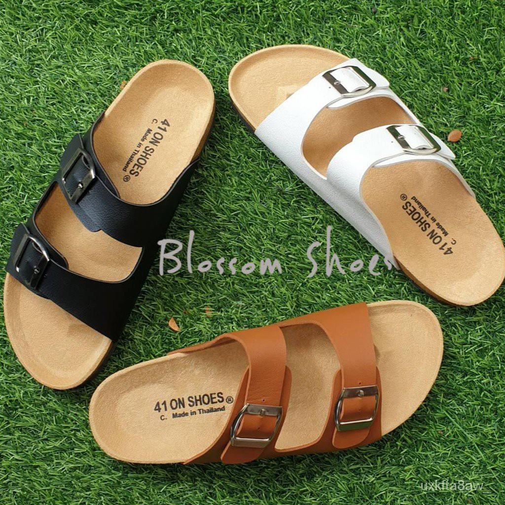 ไซส์ใหญ่ 41-43 รองเท้าแตะ ฺBikenStock 1Step /2step  สายปรับระดับได้ tKHH