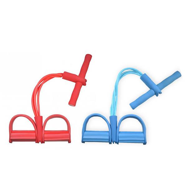 XtivePro Tummy Action Exercise ยางยืดออกกำลังกาย สีเเดง / สีฟ้า