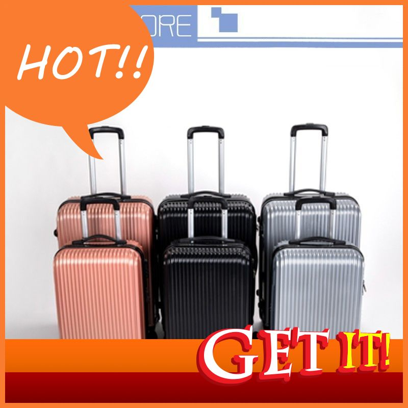 กระเป๋าเดินทาง ขนาด20/24 นิ้ว กระเป๋าลาก กระเป๋าเดินทางล้อคู่ แข็งแรง ยืดหยุ่นสูง น้ำหนักเบา ตัวกระเป๋ากันน้ำ ทนทาน