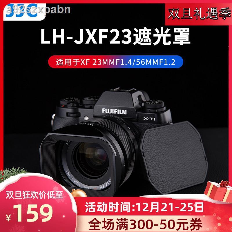 อุปกรณ์เสริมกล้องถูก▬❍JJC hood เหมาะสำหรับ Fuji XF23mmF1.4 เลนส์ XF56F1.2R APD โฟกัสคงที่ XT30 XH1 XT4 X-T4 กล้อง 62 มม.