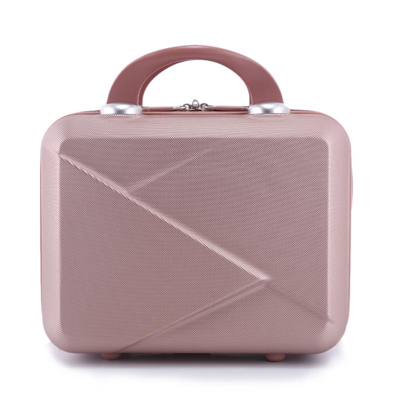 ♋กระเป๋าเดินทาง♋ผู้หญิงสไตล์เกาหลีกระเป๋าเดินทางกระเป๋าเดินทางขนาดเล็ก14-กระเป๋าแต่งหน้าขนาดนิ้ว16นิ้วกระเป๋าเดินทางขนาดเล็กแต่งงานกระเป๋าเดินทางสีแดง