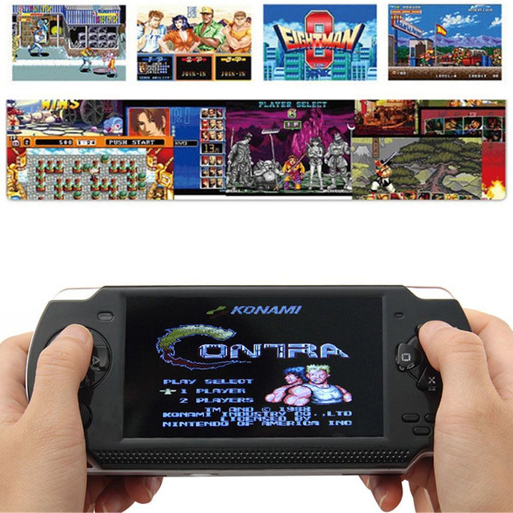 Classic MP5 32bit PSP Console Handheld Game Player 8GB 4 3