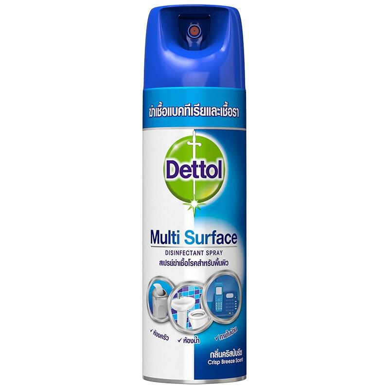 Dettol multi surface (✔️แท้ตรงบริษัท) สเปรย์ฆ่าเชื้อโรคสำหรับพื้นผิวภายในบ้าน เดทตอล