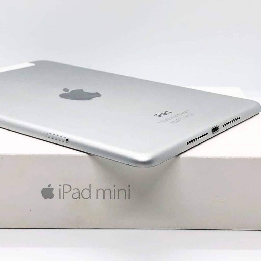 iPad Mini 4 64GB Wifi + Cell สี Silver มือสอง สภาพ 95% [ไอแพด ไอแพดมือสอง ไอแพดราคาถูก iPad iPadมือสอง มือ2 ราคาถูก]
