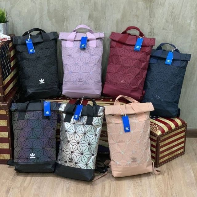 แท้💯% กระเป๋าเป้ Adidas 3D Roll Top Backpack กระเป๋าสะพายหลัง ใบใหญ่มาก ใช้ได้ทั้งชายและหญิง