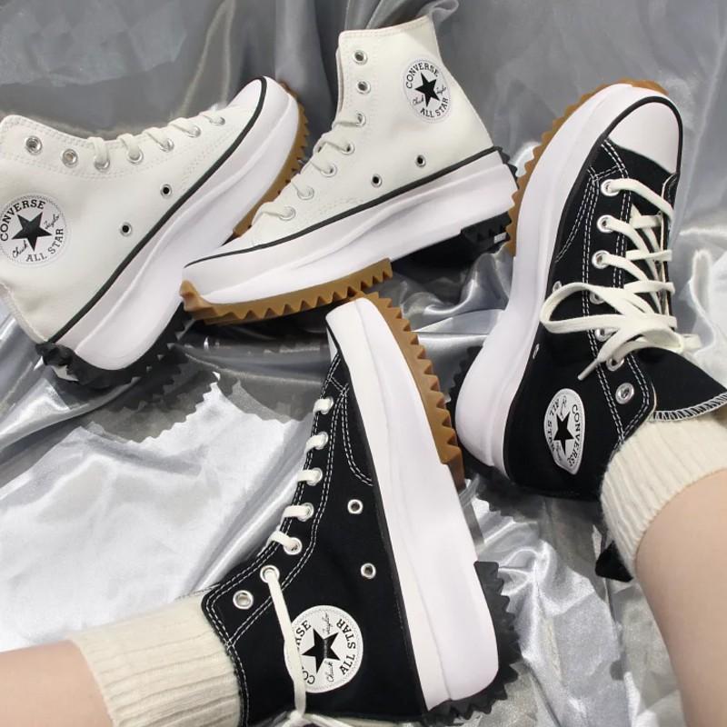 Converse Run Star Hike รองเท้าผ้าใบหุ้มข้อสําหรับผู้หญิง