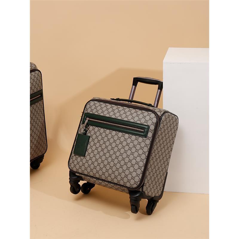 กระเป๋าเดินทาง มีล้อลาก ขนาดเล็ก แบบพกพา 14 นิ้ว