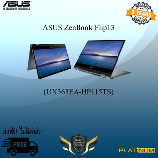 "Asus ZenBook Flip13 UX363EA-HP115TS/ i7-1165G7/16GB/512GB PCIe/13.3"" FHD Touch"