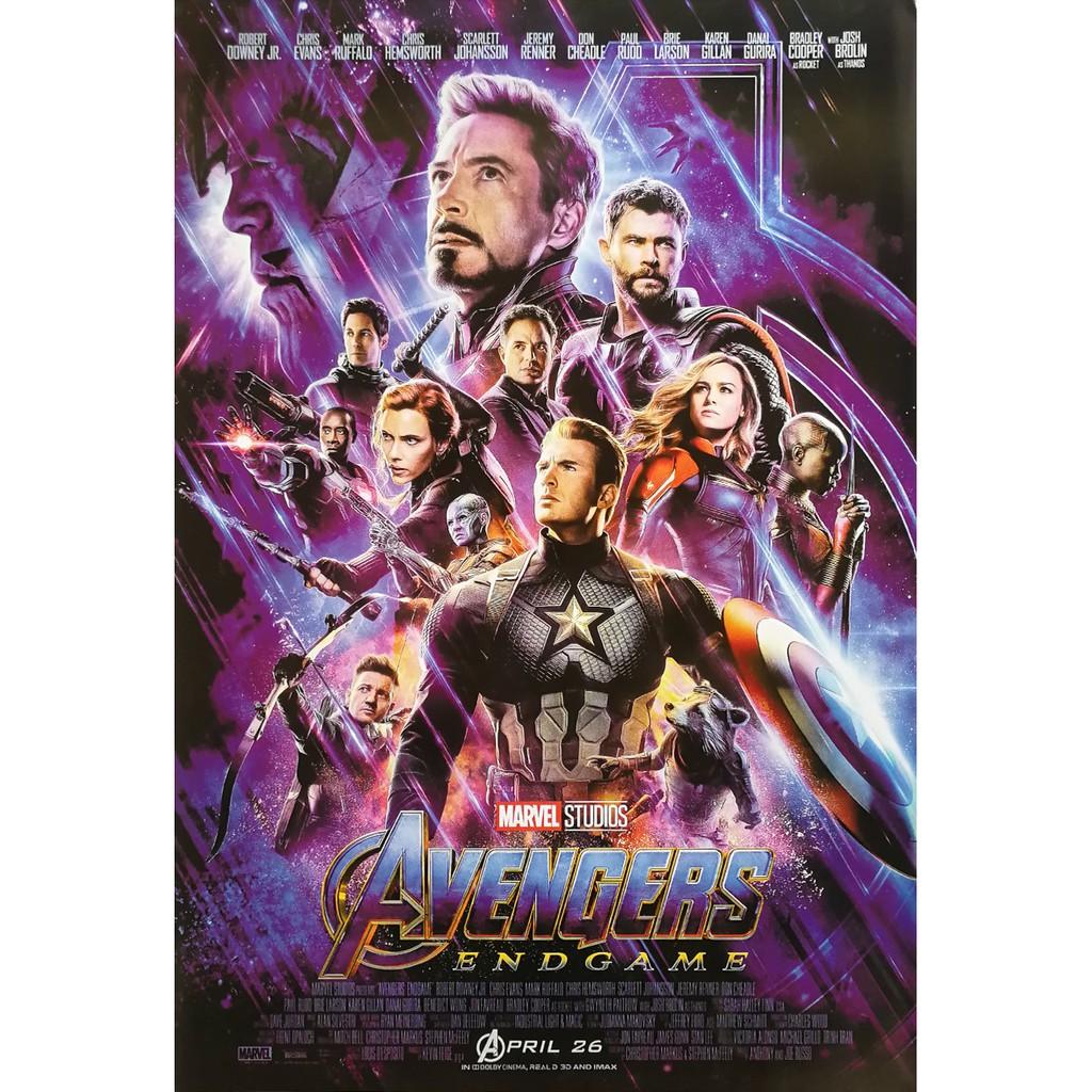 "À¹'ปสเตอร À¸«à¸™ À¸‡ À¸à¹€à¸§à¸™à¹€à¸ˆà¸à¸£ À¸ª À¹€à¸œà¸"" À¸ˆà¸¨ À¸ Avengers Endgame 2019 Poster 24 X35 Inch Superhero Marvel Shopee Thailand"
