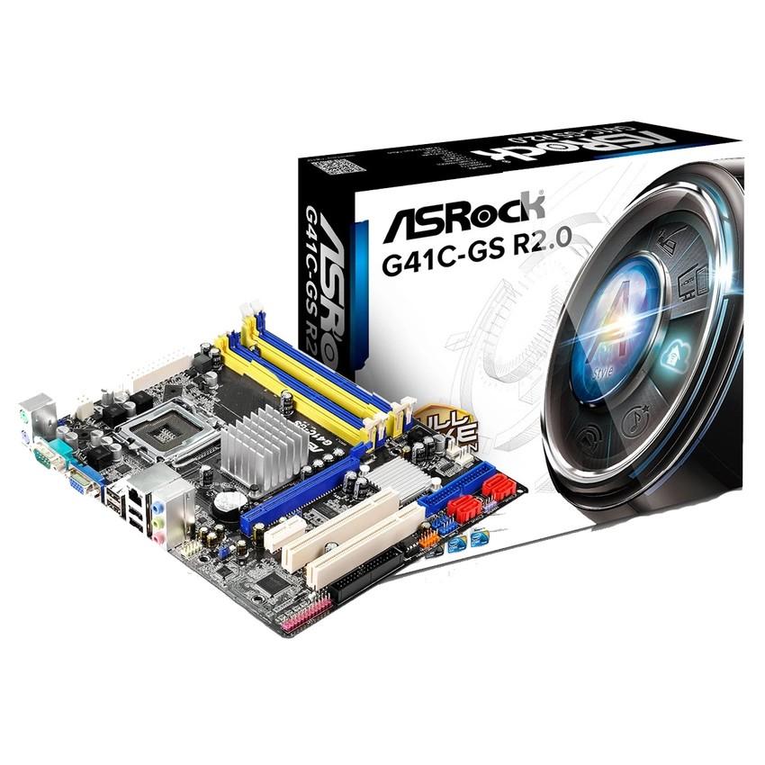 ASROCK Mainboard G41C-GS INTEL 775 (VGA On)