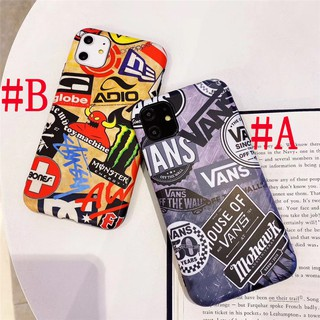 Review เคส iPhone X XS MAX XR iPhone 11 Pro Max 6 6S Plus iPhone 7 8 Plus Creative Doodle Vans Stussy IMD Soft Case