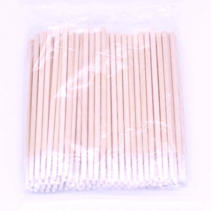 Cotton Swabs Pointed Swab Applicator Q Tips Wooden Sticks New Cotton Buds