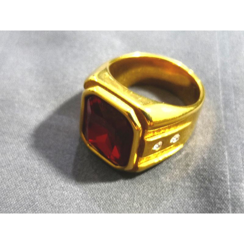 แหวนทองเหลืองอิตาลีทอง18K