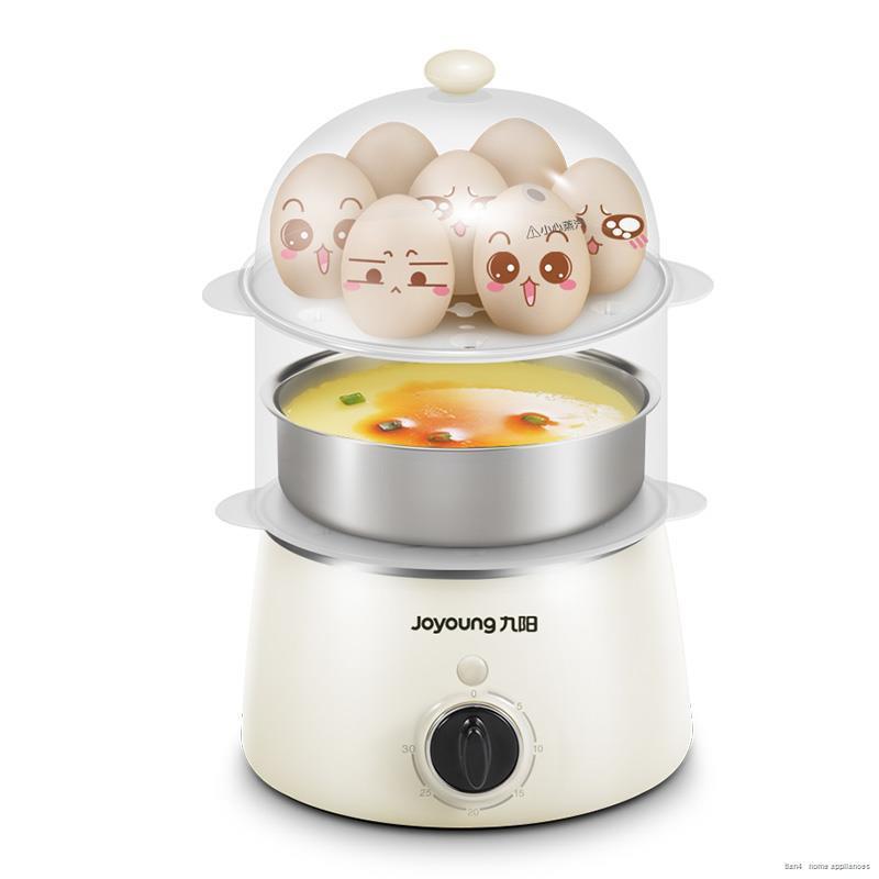 เครื่องชงกาแฟ krups™☁⊙หม้อหุงไข่ Joyoung หม้อนึ่งปิดไฟอัตโนมัติเครื่องทำคัสตาร์ดไข่ต้มขนาดเล็กสิ่งประดิษฐ์สำหรับอาหารเ