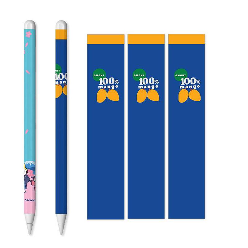 ⚾✙ปากกาแทร็คIPad สติกเกอร์ปากกา capacitive applepencil1รุ่นแรกฟิล์ม ipencil รุ่นที่สองทั่วไปป้องกันรอยขีดข่วน