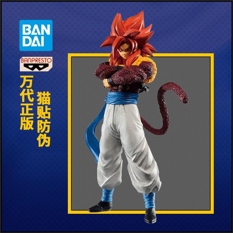 Bandai Dragon Ball รางวัลโรงงานแว่นตา Jingpin ทำมือ, Super Four Wu Jita, Burst Fighting Dragon Ball Super Assembly