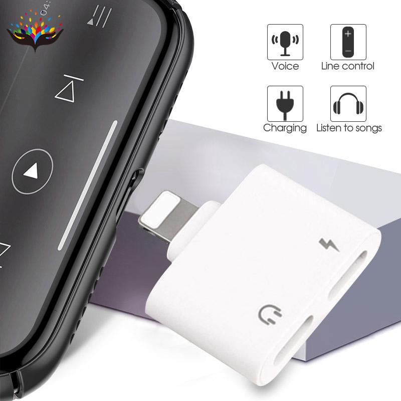 อะแดปเตอร์สายเคเบิ้ลสําหรับ Iphone 7 Dual Lightning , 13 Apple 8