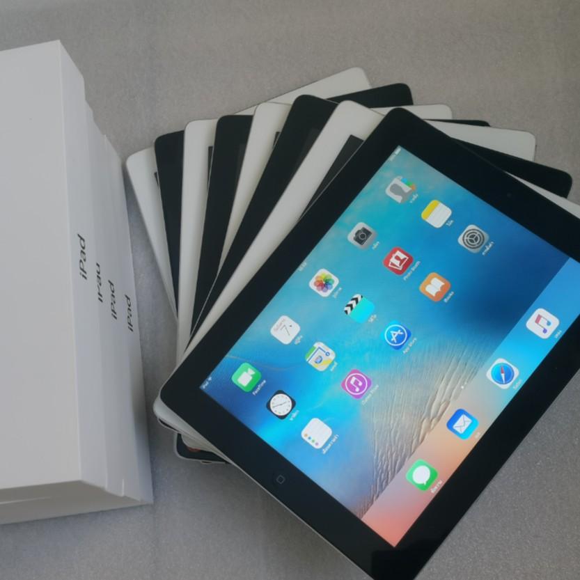 แอปเปิล iPad2 ไอแพด2 16GB เครื่องจักรใหม่ 90% WiFi ไม่มี ID แท็บเล็ต Apple มือสองของแท้