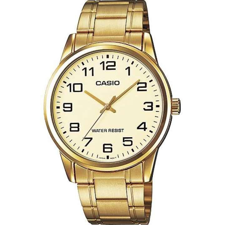 นาฬิกาสำหรับสุภาพบุรุษ นาฬิกา Casio สายสแตนเลส รุ่น MTP-V001 นาฬิกาของแท้รับประกันศูนย์