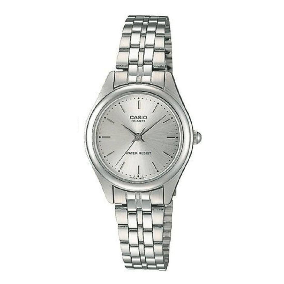 Casio Standard นาฬิกาข้อมือผู้หญิง สายสแตนเลส รุ่น LTP-1129A,LTP-1129A-7A (CMG ) - สีเงิน