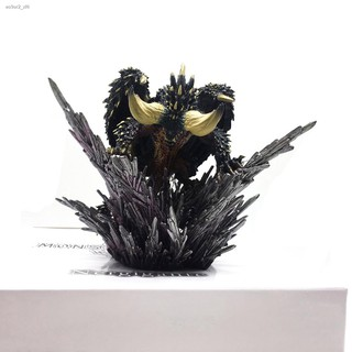จัดส่งที่รวดเร็ว◙❦ﺴAction Figure Decoration Toy Model Japan Anime Monster Hunter world Nergigante PVC Models