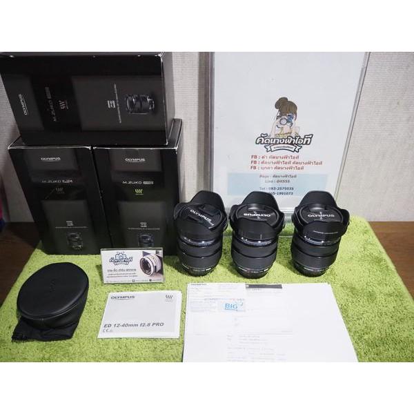 เลนส์Olympus M. Zuiko Digital ED 12-40mm f2.8 PRO เป็นสินค้า DEMO ค้างสต๊อก ลดราคา ทุกตัวสภาพ99% ใหม่เหมือนมือ1 มีรับประ