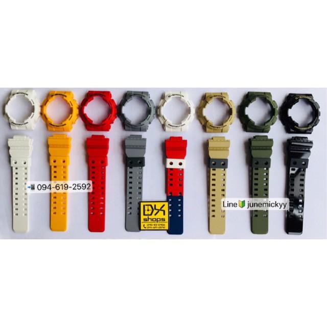 สาย applewatch แท้ สาย applewatch กรอบสายนาฬิกา G-Shock ของแท้💯% รุ่น GA,GD-100,110,120 แบบสี