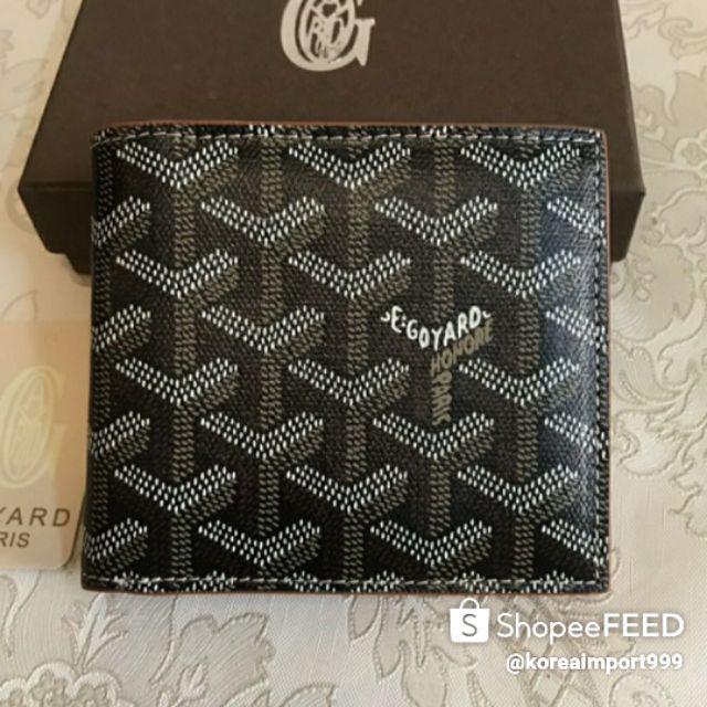 Goyard Wallet Leather