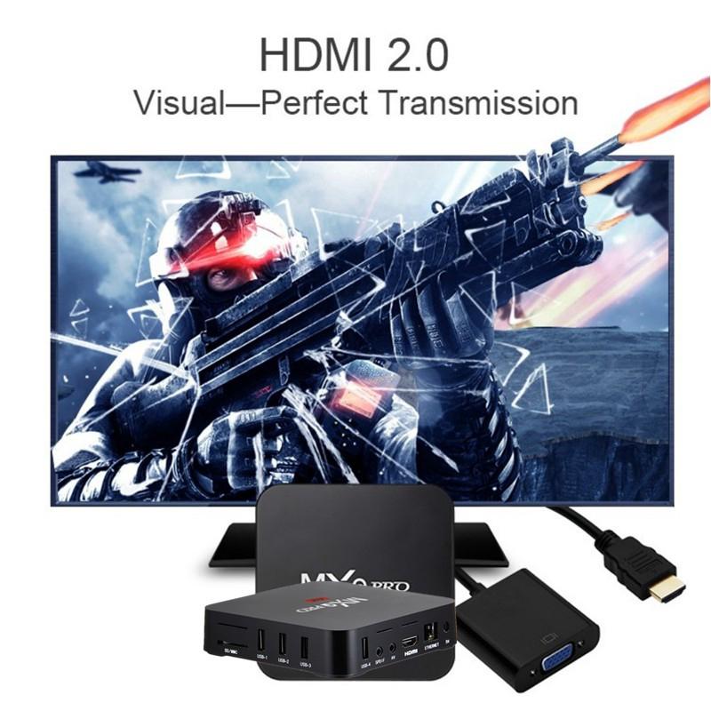 กล่องทีวี MXQ PRO 4K RK 3229 KODI WiFi Youtube Android TV Box Media Player