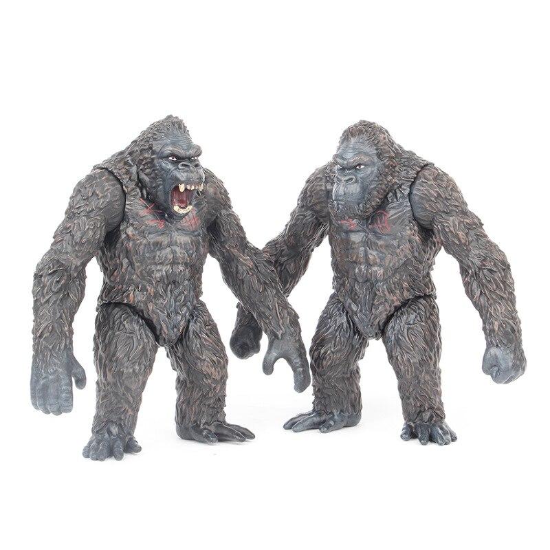 18cm Movie Kings Monkey  Kong Gorilla Figure Model Toys