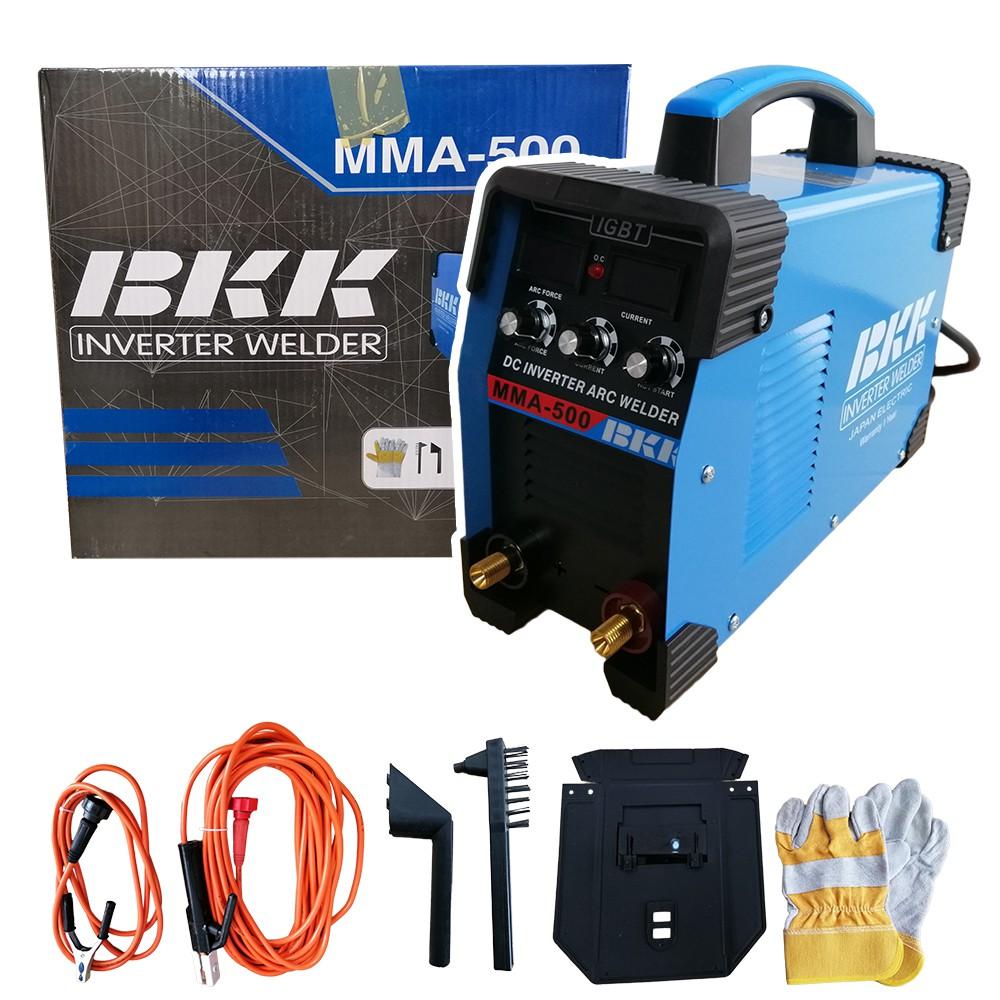 ตู้เชื่อม BKK INVERTER MMA 600A รุ่น MMA-600 สายเชื่อม 10 เมตร พร้อมอุปกรณ์ครบชุด
