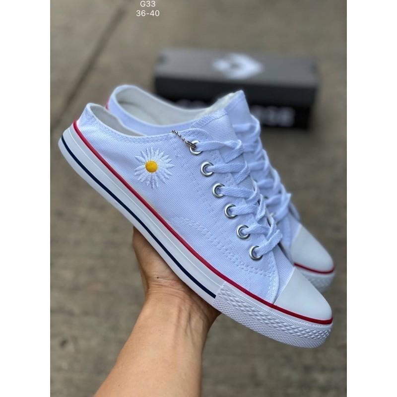 Converse All Star X Peaceminusone (size36-40)สีขาว