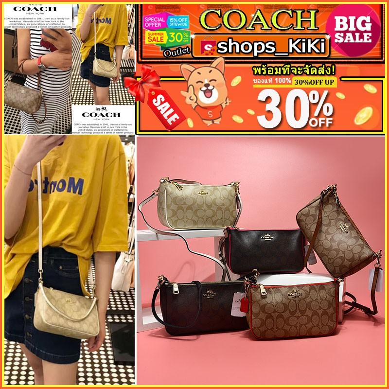 best website 199ee b183e 🔥สินค้าขายดี🔥Coach Genuine 36674 กระเป๋าสะพายไหล่กระเป๋าถือสำหรับสตรี