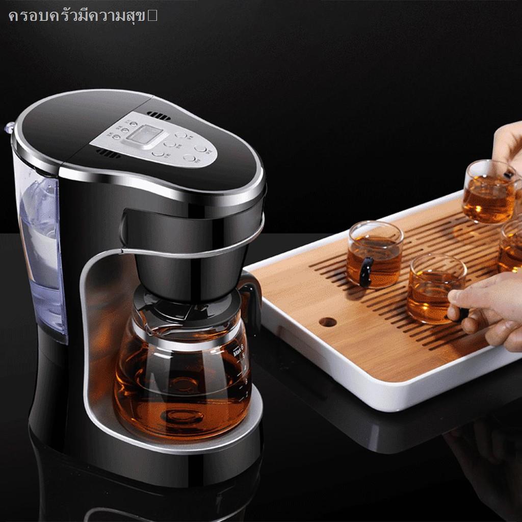 hot♀เครื่องชงกาแฟ เครื่องชงกาแฟเอสเพรสโซ เครื่องทำกาแฟขนาดเล็ก เครื่องทำกาแฟกึ่งอัตโนมติ Coffee maker เครื่องชงชากาแฟ