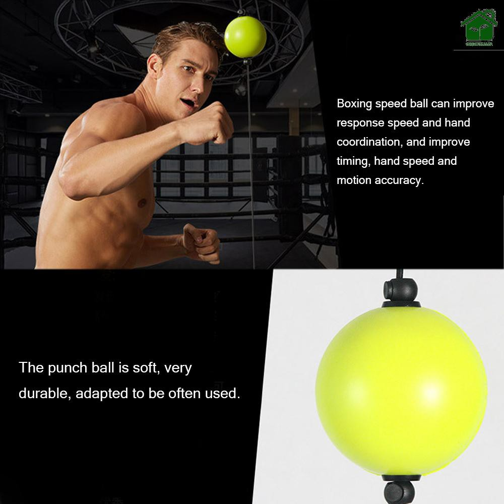 1PC Fighting Boxing Reflex Ball For Reflex Speed Training Boxing Punch Ball BS