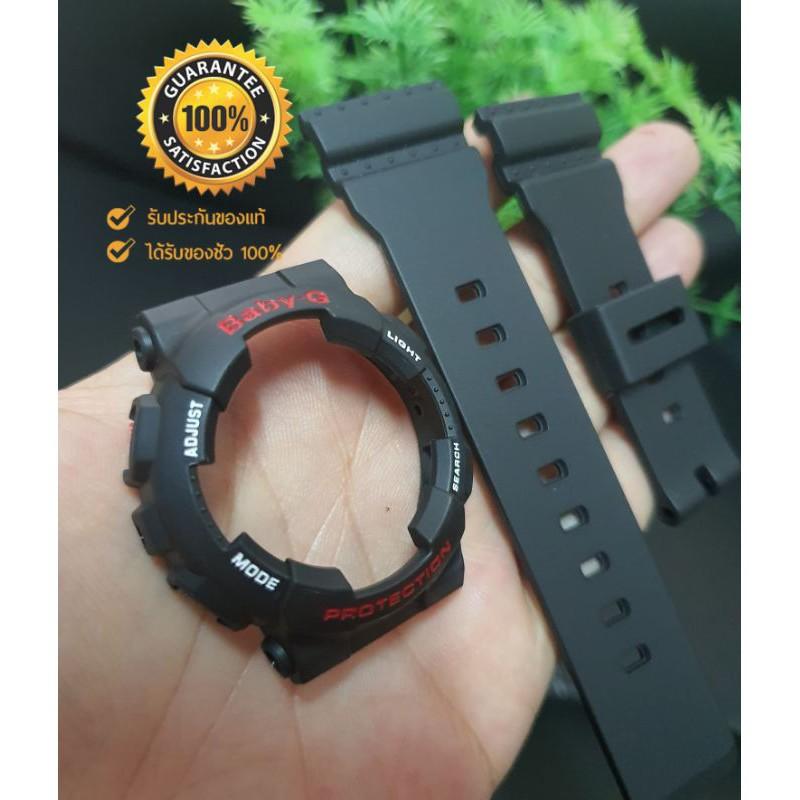สาย applewatch แท้ สาย applewatch Baby-G รุ่นBA110แท้100% ดำด้าน-ดำเงา