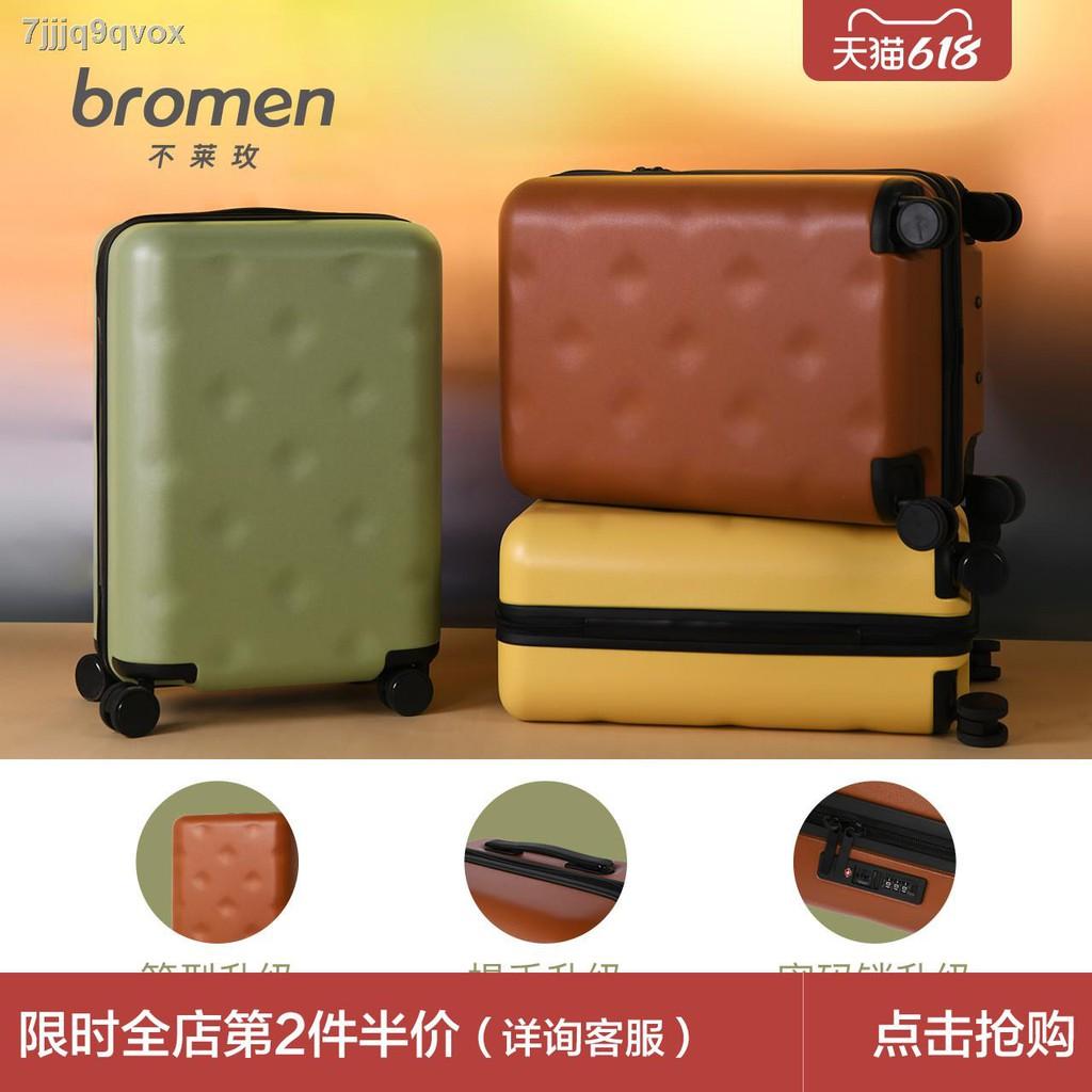 ✿△กระเป๋าเดินทางมูลค่าสูง Bulaimei กระเป๋าเดินทางหญิง กระเป๋าใส่รถเข็นขนาดเล็ก 20 ใบ กระเป๋าเดินทางแบบมีรหัสผ่าน ล้อสากล