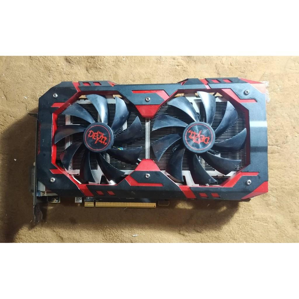 การ์ดจอ VGA AMD RX 580 8GB PowerColor RED Devil NOBOX
