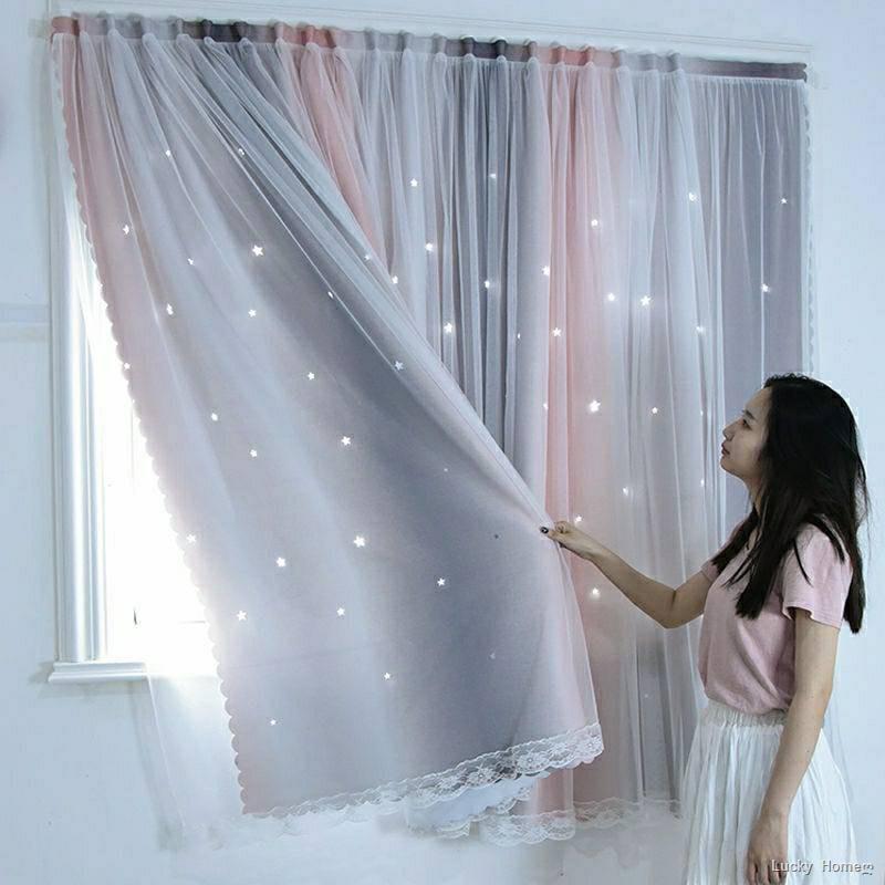 🔥ส่งจากไทย🔥❏ผ้าม่านหน้าต่าง ผ้าม่านประตู ผ้าม่าน UV สำเร็จรูป กั้นแอร์ได้ดี และทึบแสง กันแดดดี ติดแบบตีนตุ๊กแก จำนวน
