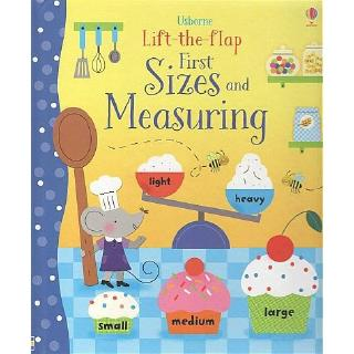 DKTODAY หนังสือ USBORNE LIFT-THE-FLAP SIZE AND MEASURING